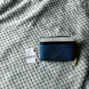Michael Kors small zip around wallet